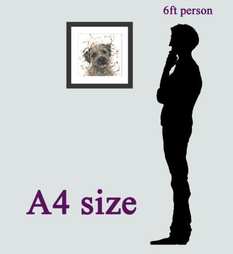 size A4 option