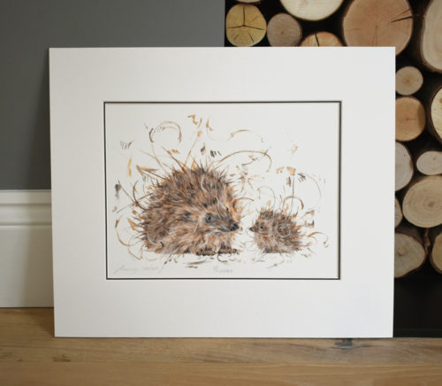 prickles mounted