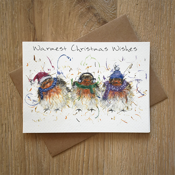 Christmas Wishes Card.Warmest Christmas Wishes Greeting Card