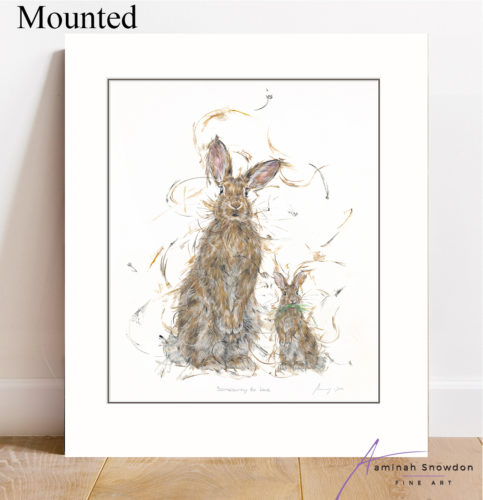 somebunny to love mounted