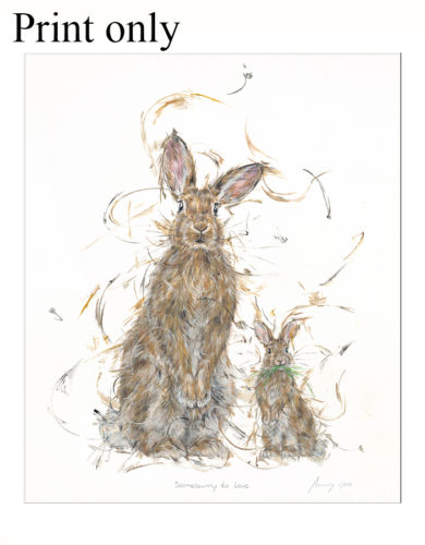 somebunny to love print only