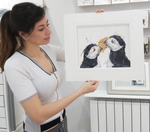 puffins and me